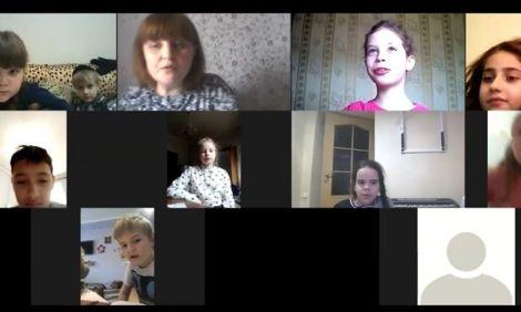 ВSmartJребята перешли на онлайн-занятия