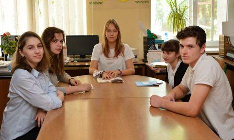Відновив  роботу шкільний парламент НВО «ХАБАД»