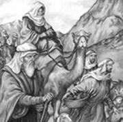 Авраам начал новую жизнь в семьдесят пять лет