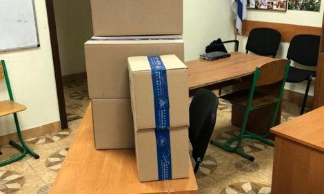 Еврейская община города ХерсонХабад Херсонполучила и раздала наборы к празднику Шавуот.