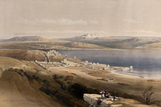 Холера на берегах Генисаретского озера