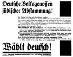 Евреи – немецкие националисты: крах иллюзии, 1933–1935
