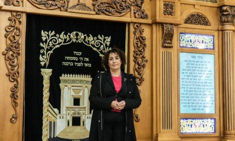 """Посол Великобритании в Украине Мелинда Симмонс посетила синагогу """"Хабад Херсон"""""""